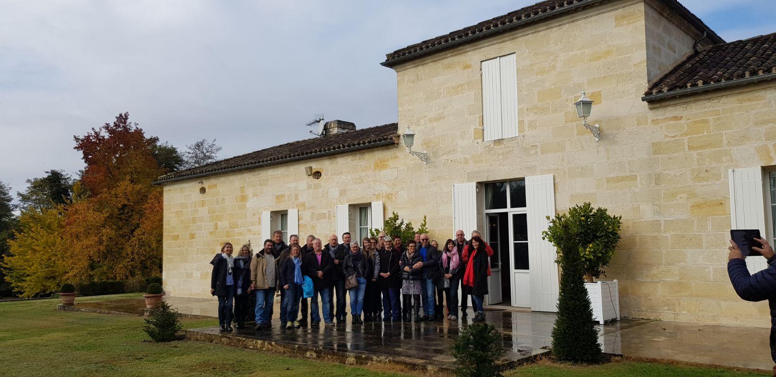 Sortie annuelle du Club des Entreprises à Bordeaux